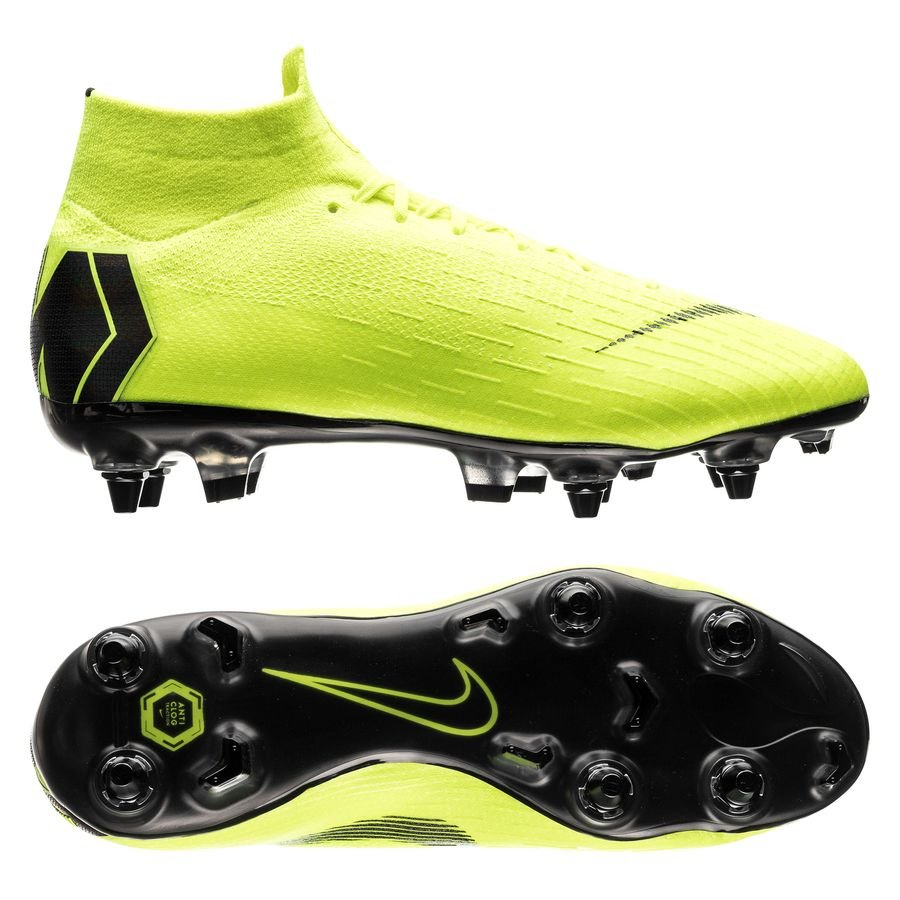 NIKE MERCURIAL SUPERFLY 6 ELITE SG PRO ANTI CLOG ALWAYS FORWARD NEONSCHWARZ
