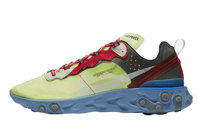 NIKE X UNDERCOVER 'REACT ELEMENT 87' SNEAKERS