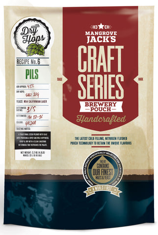 Mangrove Jack's Craft Series Pils with dry hops - 2.5kg