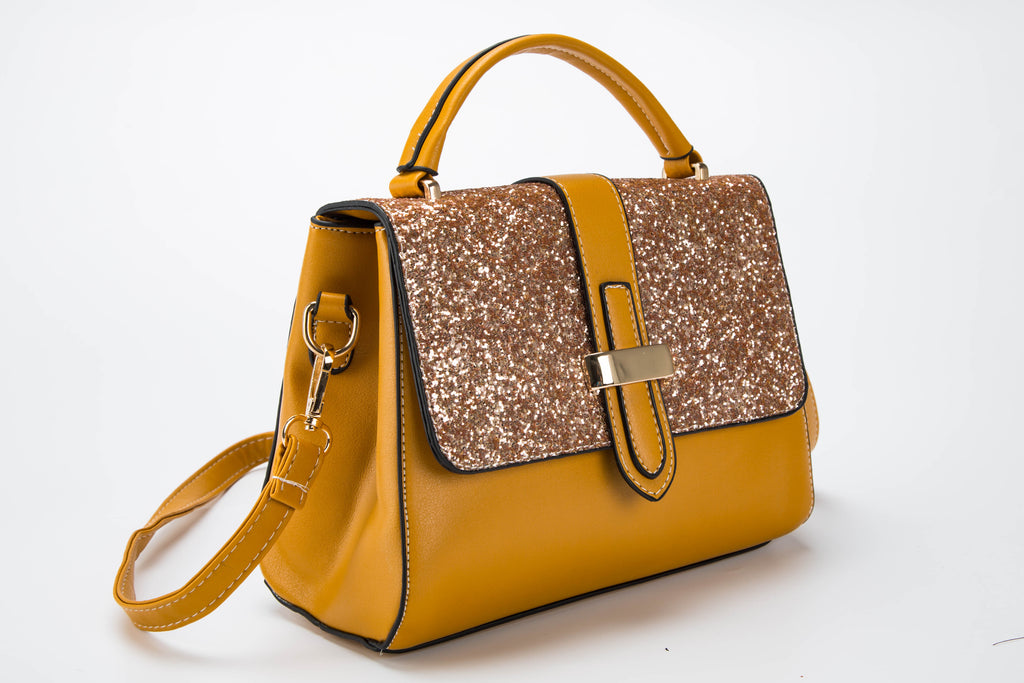 New Amber Ochre Shoulder Bag