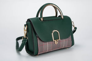 Sherwood Green Leather Shoulder Bag