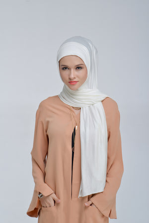 Jersey Cotton - White