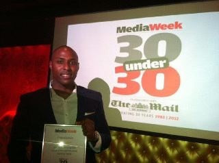 Mark Joseph 30 under 30 Media Week and Daily Mail Award Winner