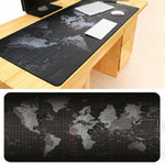 Super Large Size 90cm*40cm World Map Speed Game Mouse Pad Mat Laptop Gaming Mousepad