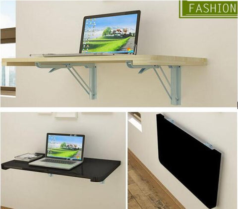 Wood Wall Hanging Laptop Table Folding 100*40CM