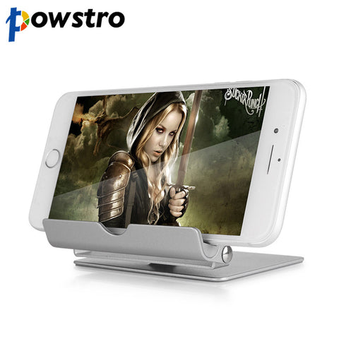 360 Degree Rotate Aluminum Alloy Desktop Tablet PC & Mobile Phone Stand Holder Lazy Support Folding Detachable Bracket For iPad