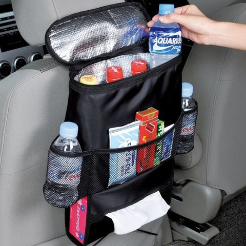 Car Seat Insulated Storage Bag To Keep Drinks and Food Cool