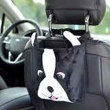 Cartoon Back Seat Hanging Bag for Toys, Rubbish