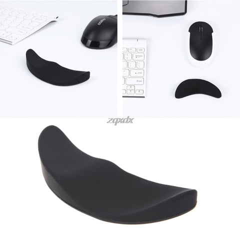 Ergonomic Mouse Pad Silicon Gel Non-slip Streamline Wrist Rest Support Rest
