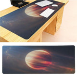 MaiYaCa Space Fire Planet Large Mouse pad PC Computer mat Size for 30x90x0.2cm Gaming Mousepads