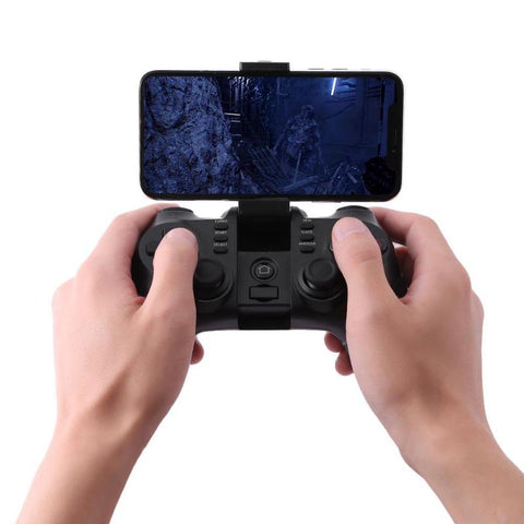ALLOYSEED2.4G Wireless Bluetooth Gamepad Game Handle Controller Receiver with Holder for PlayStation3 for SONY PS3 console