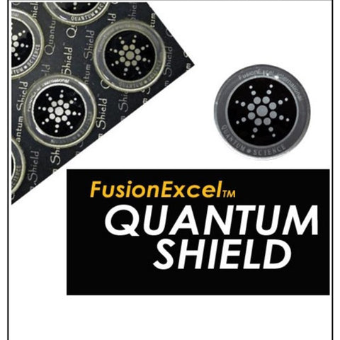 Quantum Shield Stickers | Block EMF Radiation & Harmful Frequencies | Electronic Device & Phone Stickers