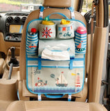 Car Organizer Storage | Headrest Hanging | Pocket Storage Styled for Children