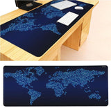 MaiYaCa  Worldmap Large Mouse pad PC Computer mat Size for 30x90x0.2cm Gaming Mousepads