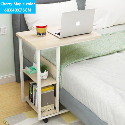 Wooden Furniture computer desk student dorm computer desk Bedside desk Mobile Living room coffee table End Tables