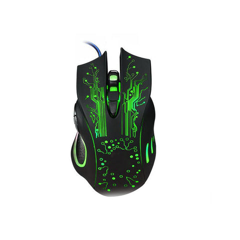 Wired Mouse Professional Optical Gaming Button Mouse Gamer LED Light