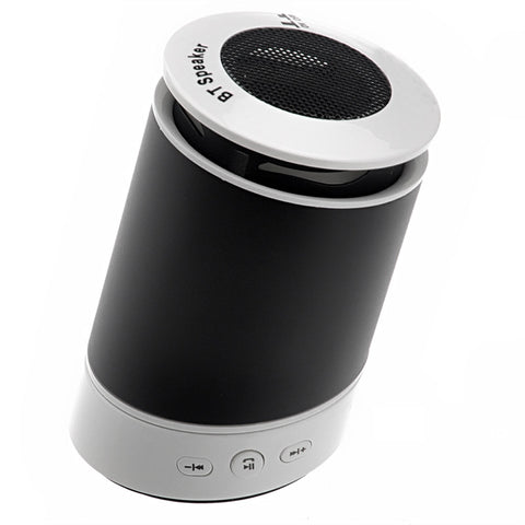 Portable Leaning Tower Shaped Rechargeable Wireless Bluetooth Hands-free Speaker with MIC for iPhone /iPad /Cellphones