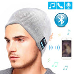 szkoston Wireless Bluetooth Headphones Music Hat Smart Caps Headset Earphone Warm Beanies Winter Hat with Speaker Mic for Sport