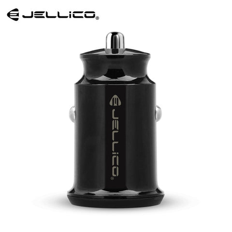 Jellico JN31 Dual USB Mini Car Charger 5V/3.1A Fast Charging Phone Charger For Iphone Xiaomi Samsung Huawei Mobile Phone Charger