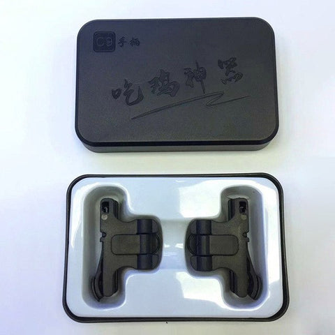 Pair of Universal Mobile Gaming Trigger Fire Buttons Handle 4X1.3X2.5 cm