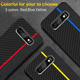 Carbon Fiber Case For Samsung Galaxy S9 S10 - plus