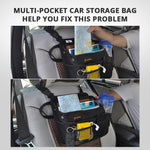 Car Seat Organizer Hanging Headrest Bag for Any Passenger Front or Back of Seat