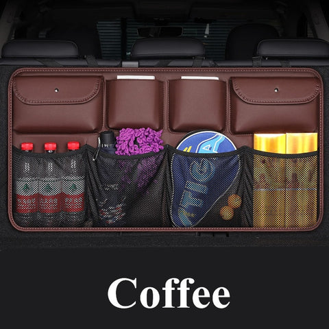 Car Organizer Back Seat Storage Multi-use Car Trunk | Headrest Attach | 3 Styles