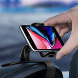 Universal Car Dashboard Phone Holder Mount | 360 Degree - optional combo of vent clip