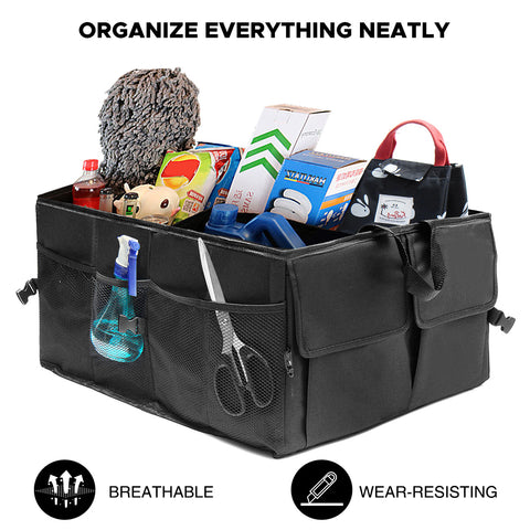 Car Organizer Trunk or Seat with Pockets | Size: 21x15x10 inch