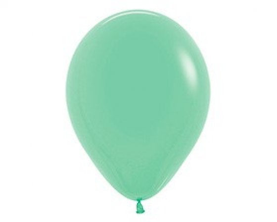 Mini Mint Green Balloon 12cm