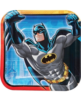 Batman Square Lunch Plates (Pack of 8)