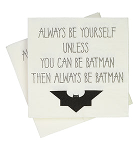 Batman Napkins (Pack of 20)