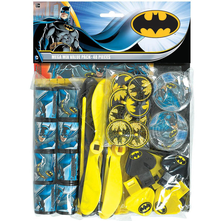 Batman Party Favours Pack (48 Piece)