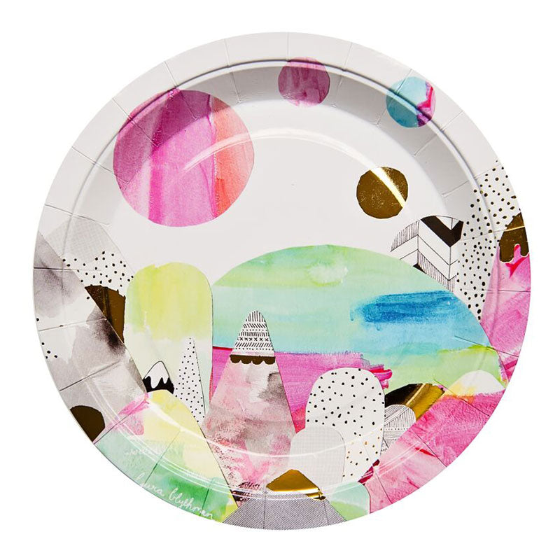Beyond Mountains Plates (Pack of 10)