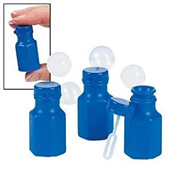 Party Bubbles - Blue (Pack of 16)