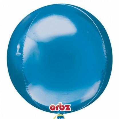 "Orbz 16"" Blue Balloon"