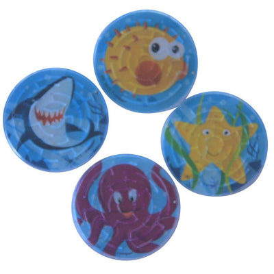 Fin Friends Maze Puzzle Party Favours (Pack of 4)