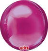 "Orbz 16"" Bright Pink Balloon"