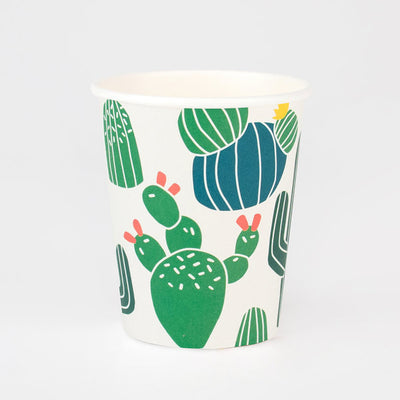 Cactus Party Cups (Pack of 8)