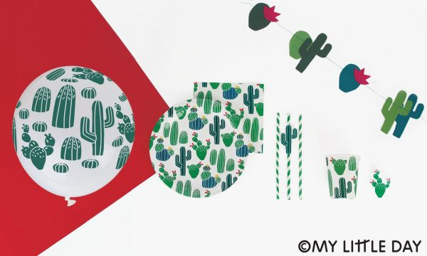 Cactus Party Balloons (Pack of 5)
