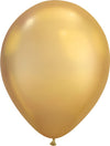 Chrome Gold Balloons (Pack of 25)