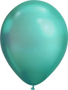 Chrome Green Balloon 28cm