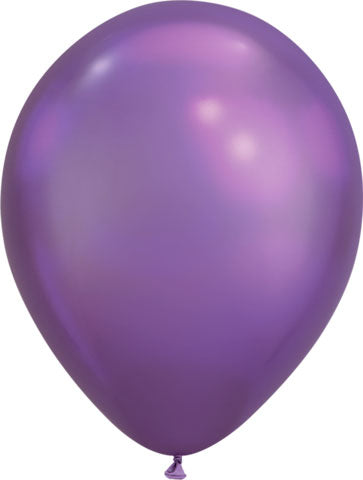 Chrome Purple Balloons (Pack of 25)