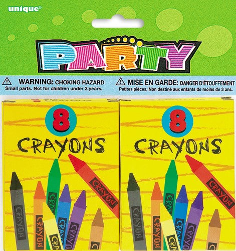 Crayon Box Party Favours (Pack of 4)