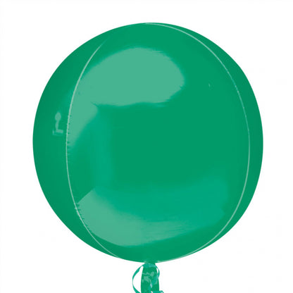 "Orbz 16"" Green Balloon"