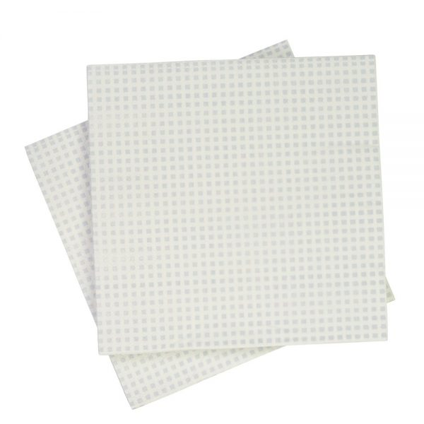 Grey Heshen Napkins (Pack of 20)