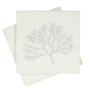 Hampton Grey Coral Napkins (Pack of 20)