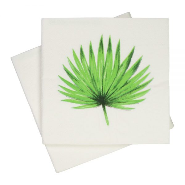 Hampton Palm Leaf Napkins (Pack of 20)