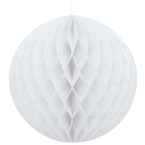 Honeycomb Ball - White