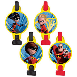 Incredibles 2 Blowouts (Pack of 8)
